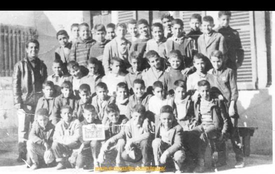 CLASSE D'ECOLE 1968/69